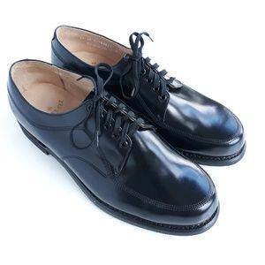 Work America Mens 11 Black Oxford Dress Shoes NWOB